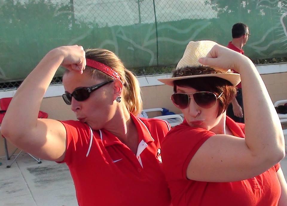 Coach Becky & Carolyn